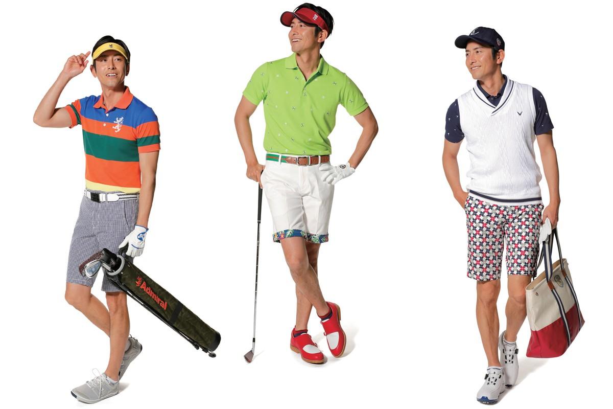 「アドミラル ゴルフ」「パーセッタンタドゥーエ」「キャロウェイ アパレル」|男はやっぱりカタチから! ゴルファーのための「失敗しない」ファッション入門