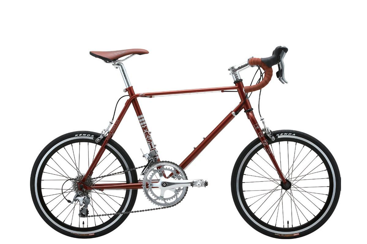 MASI/MINI VELO DUE DROP(マジィ/ミニベロ デュエ ドロップ) 小径だからって侮れない! 自転車雑誌『BICYCLE PLUS』が選ぶオススメミニベロ3選