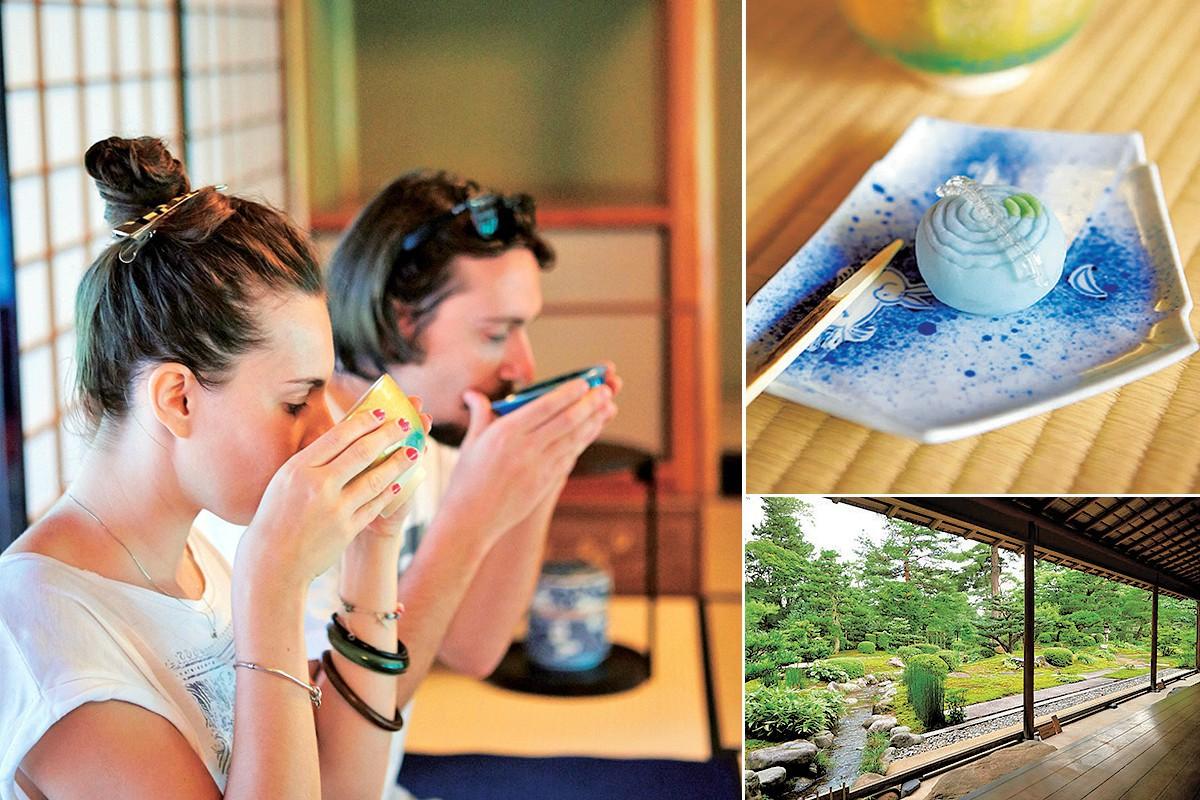 兼六園 時雨亭(しぐれてい))|【金沢の旅】名園を眺めながら至福の一服。兼六園は茶屋も風情たっぷり!