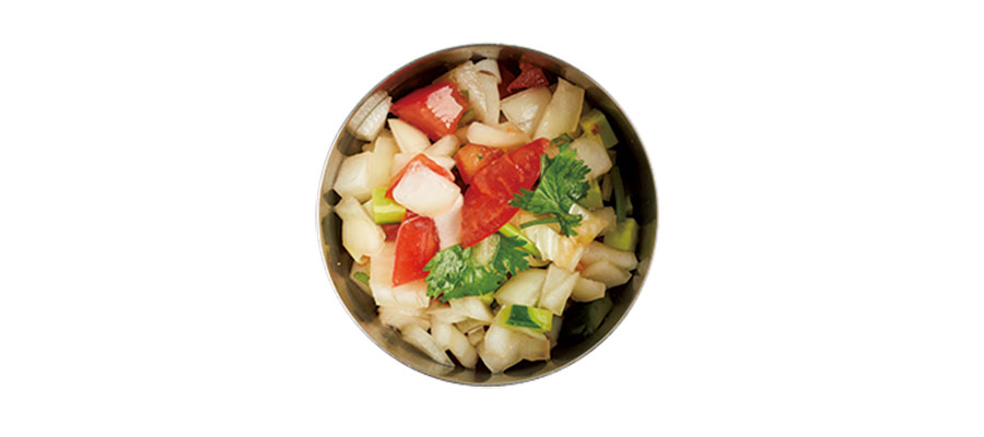 香菜と香味野菜のアチャール