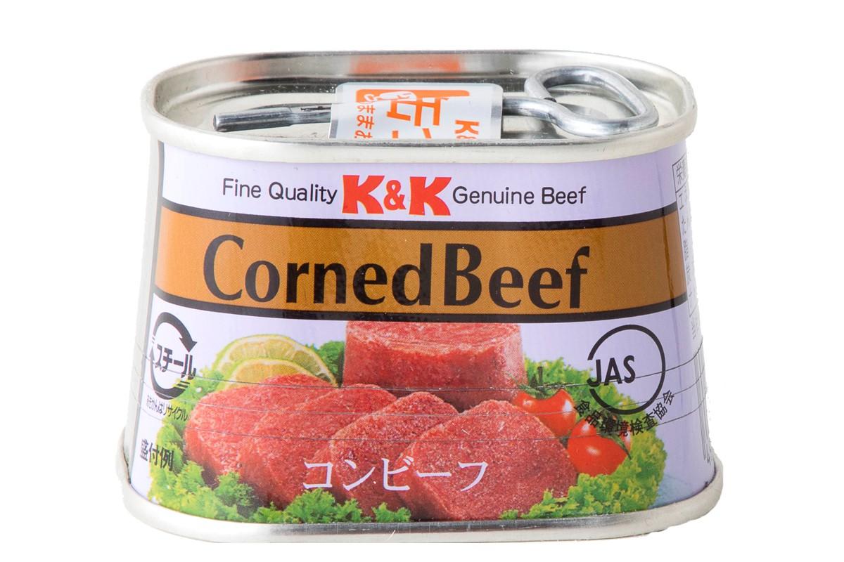 コンビーフ缶