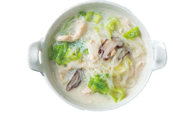 03 豆乳春雨スープ