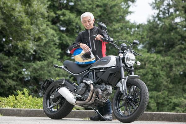 根本健がつぶやいたバイク人生の本質とは?「オレ、まだ上手くなっているんだよなぁ~」