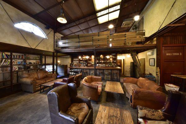 【リノベーション倉庫⑧】約40年前に作られた鉄工所をリノベしたカフェ。|東京・二子玉川