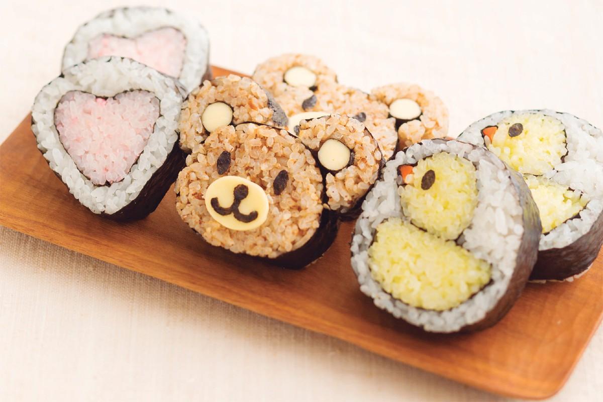 夏休みに親子で作ろう! 巻いて楽しい、食べておいしい「飾り寿司」のススメ【作り方】