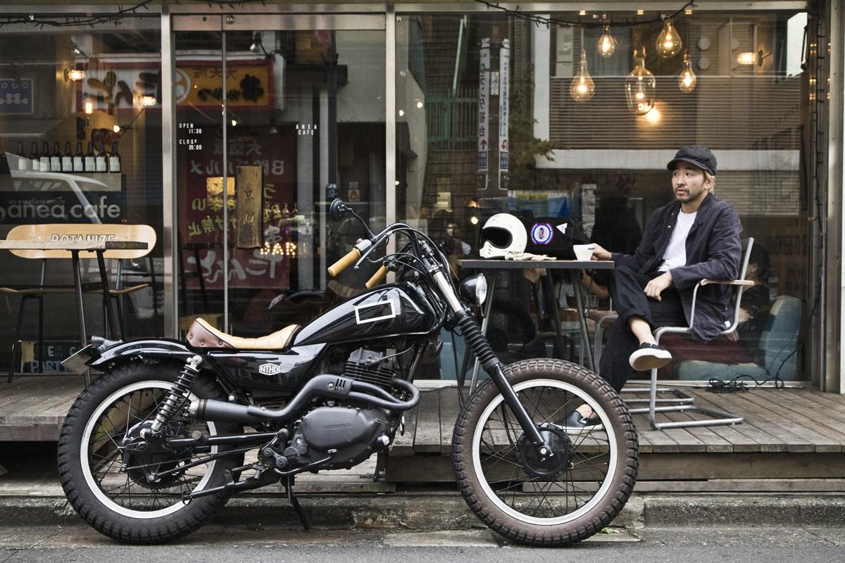 バイク オフ カスタム ロード XR250(MD30) カスタム例