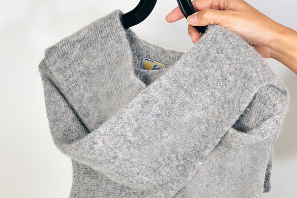自宅でウールニットを新品のように蘇らせる洗濯方法。もう型崩れなんて怖くない!