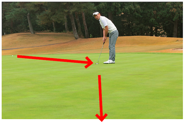 2パットでホールアウト! ロングパットは距離合わせを最優先しよう