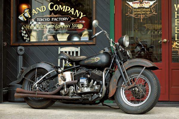 ヘルメット作りの原点にはハーレーのカスタムがあった