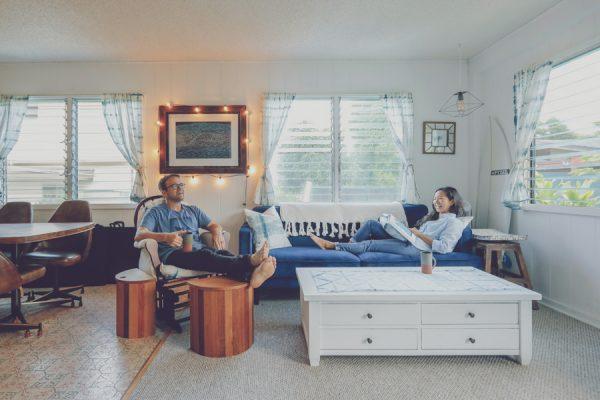"""""""静けさ""""を楽しむ、自分達でつくりあげた家~Steven & Megumi Kean at North Shore~"""