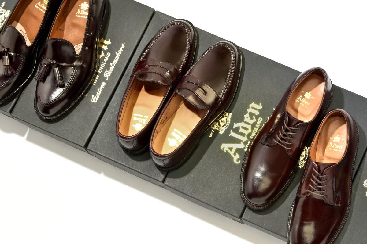 【定番革靴ブランド】オールデンの名作モデル8選