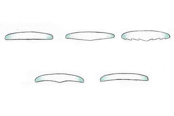 サーフボードのボトム形状の特徴を知りたい