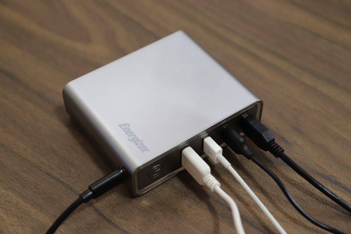 ある時はアダプター、ある時はバッテリー【Energizer XP20001PD】