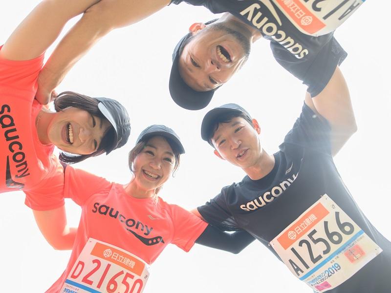 【チームサッカニー】みんなと一緒だから走れた! 目標レース「かすみがうらマラソン」に挑戦