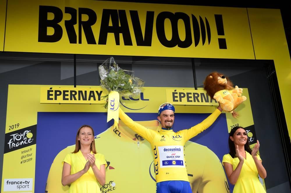 【ツール第3ステージ】アラフィリップがマイヨジョーヌをフランスに持ち帰る!