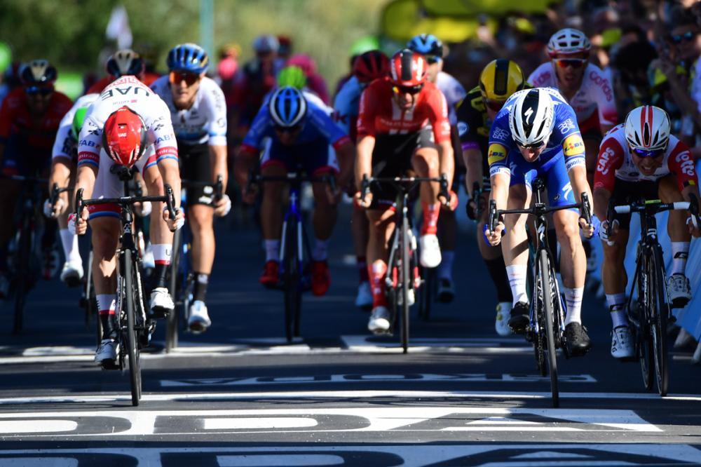 【ツール第4ステージ】ヴィヴィアーニが初勝利。クイックステップが2連勝