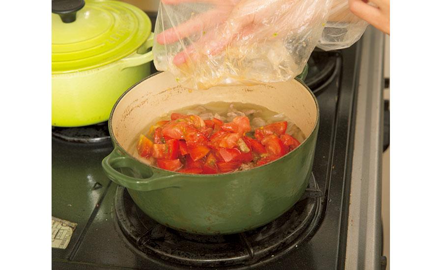 ラム肉とトマトのカレー04