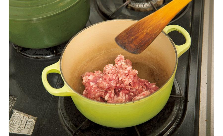 根菜と挽き肉のカレー01