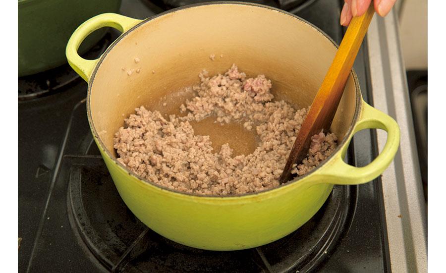 根菜と挽き肉のカレー02