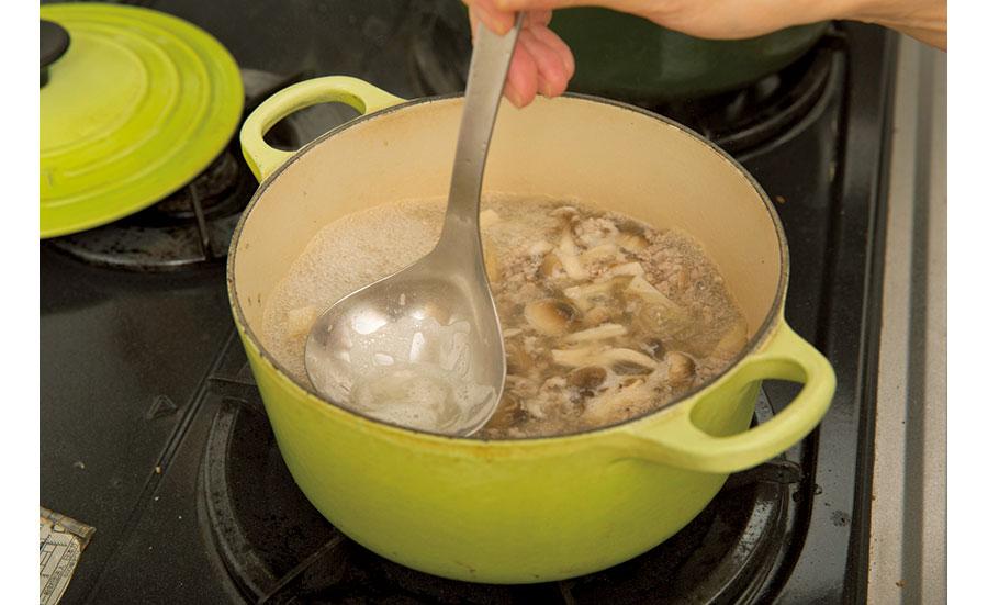 根菜と挽き肉のカレー05
