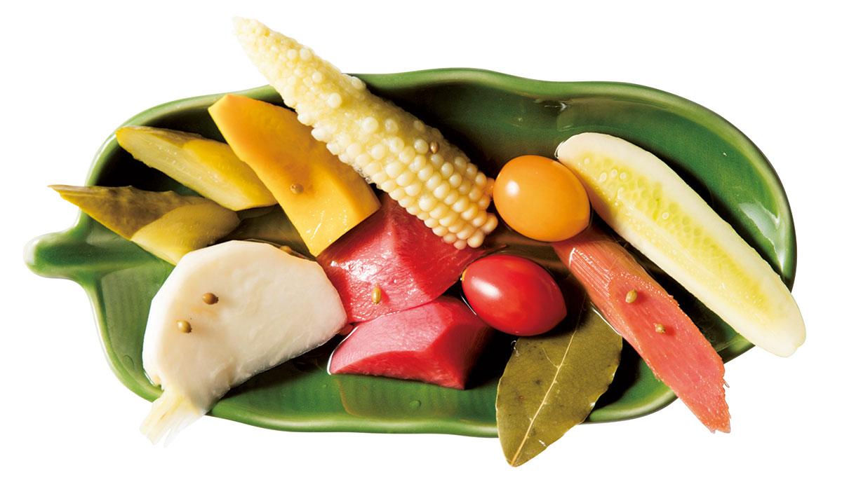 新野菜のピクルス
