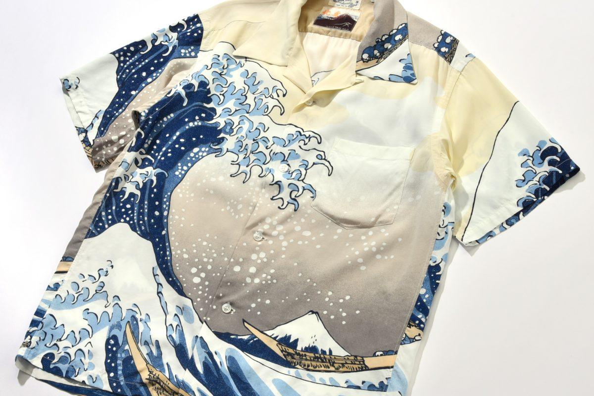 東京オリンピック観戦に着ていくべきは、 「浮世絵アロハ」。