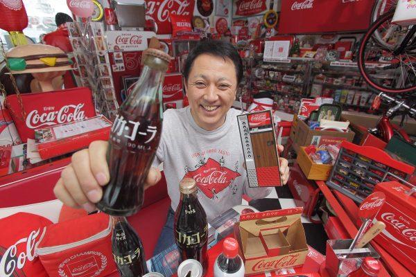 コレクターズ・クラブまで設立した、生粋のコカ・コーラ収集家。