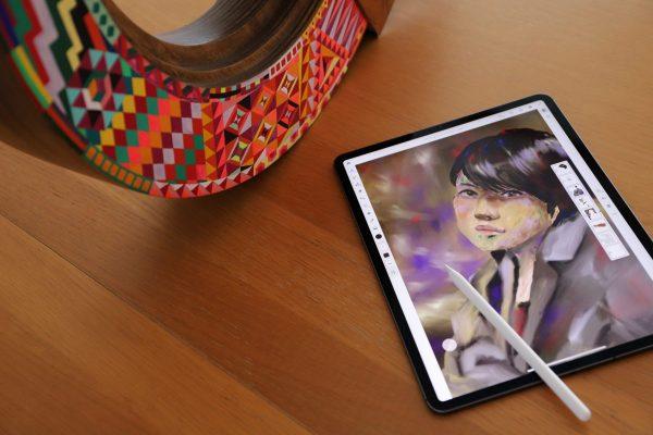 発表されたばかりのAdobe Fresco(フレスコ)で絵を描いてみた