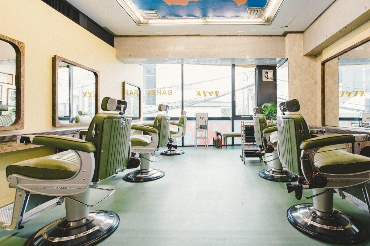 「昭和の理髪店」が令和のストリートに登場!