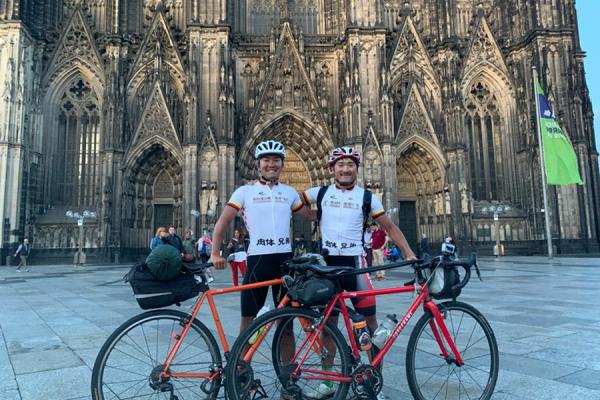 【肉体兄弟ドイツを往く】3000kmの自転車旅をついに完走!