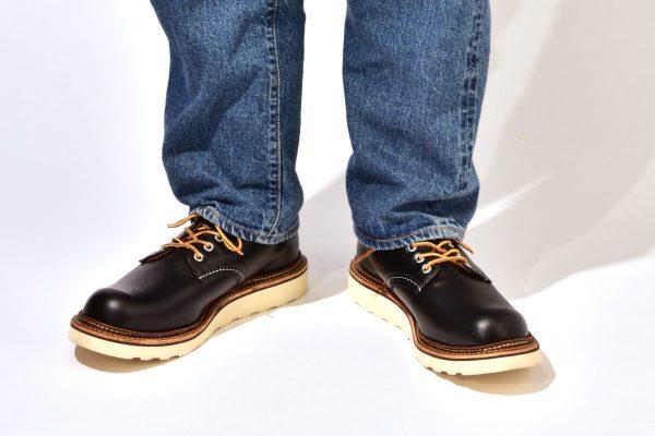 デニムに似合う、黒いレッド・ウィングの短靴おすすめ3選。