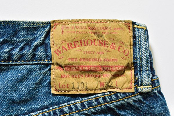 【ウエアハウスセカンドハンドの傑作ジーンズ】新品で買える極上の古着という秀逸さ
