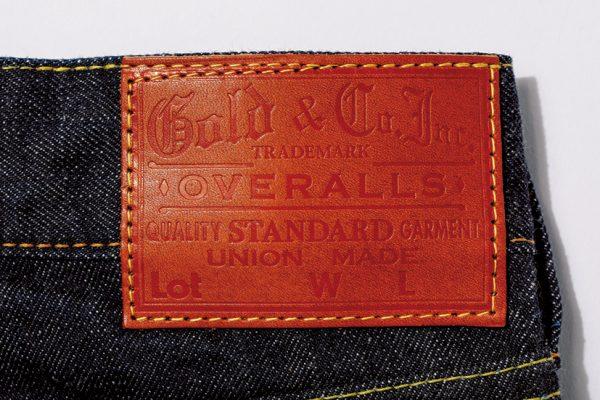 【ゴールドの傑作ジーンズ】1940年代の名作をベースに現代的なエッセンスをプラス