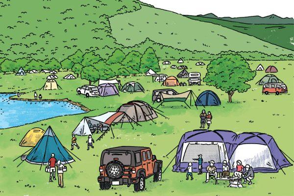 山梨のキャンプ場ガイド