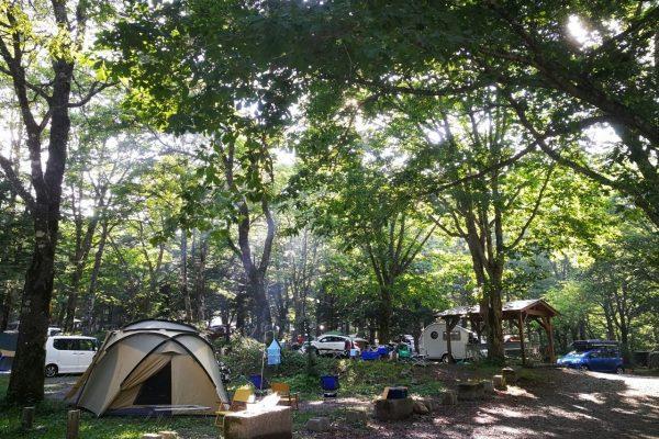 キャンプ場ガイド「平湯キャンプ場」(岐阜県高山市奥飛騨温泉郷)