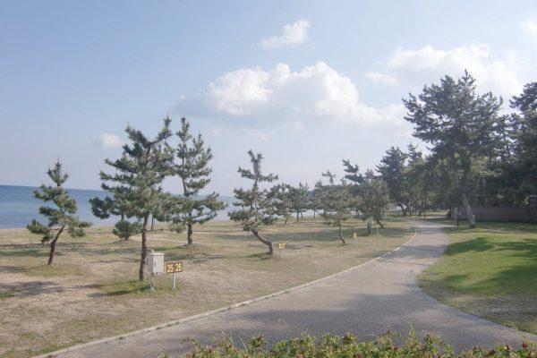 キャンプ場ガイド「マキノサニービーチ高木浜オートキャンプ場」(滋賀県高島市)