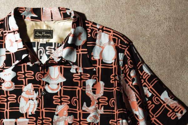 これ以上古い和柄はもう出ない!? 図鑑みたいな「土偶柄」ハワイアンシャツ(アロハシャツ)。