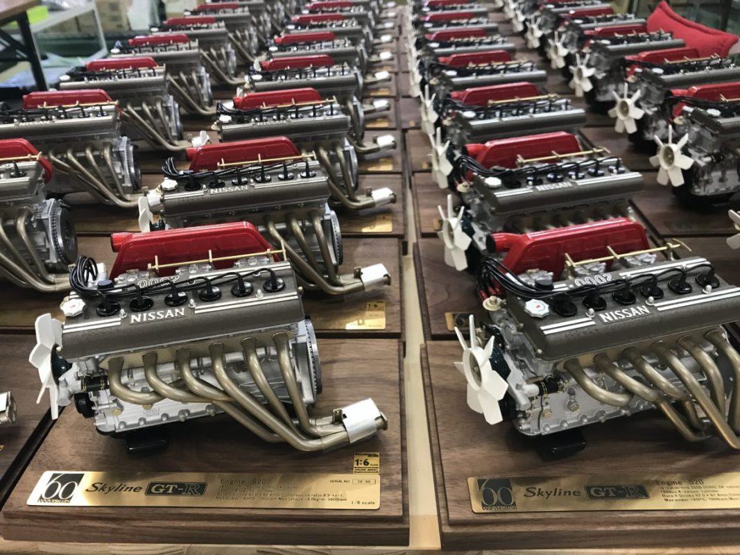 クルマ好きから絶大な支持を集める、エンジン模型専門メーカーの手仕事 ...