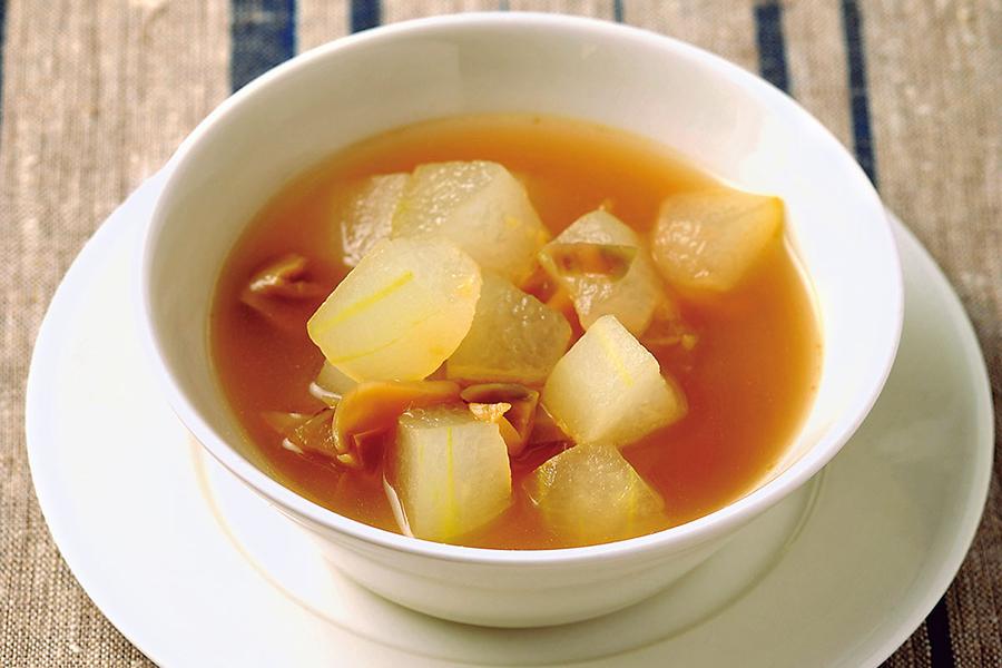冬瓜と生姜のスープ