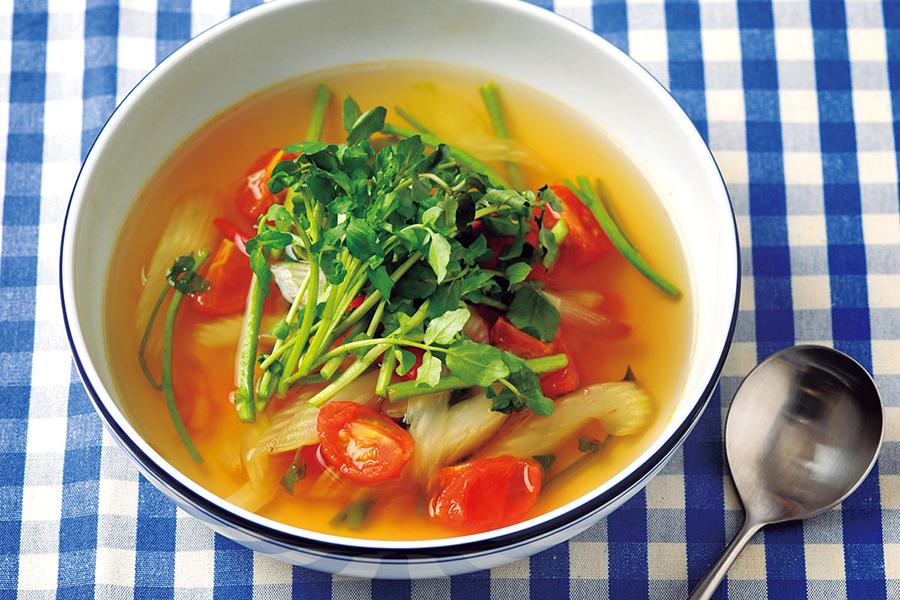 香り野菜のスープ