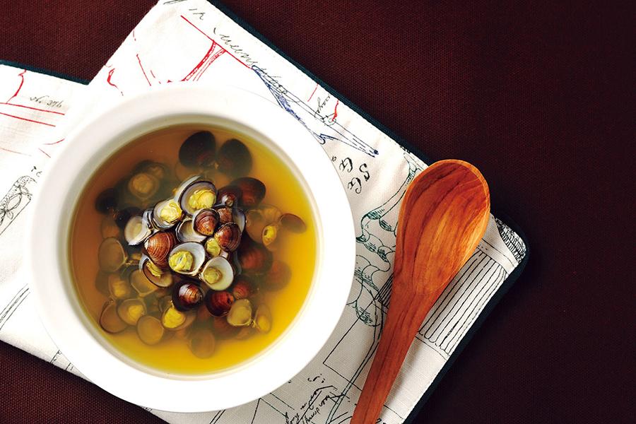しじみのターメリックスープ