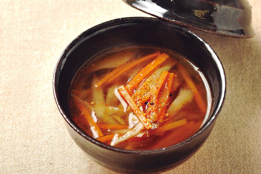 きんぴらスープ