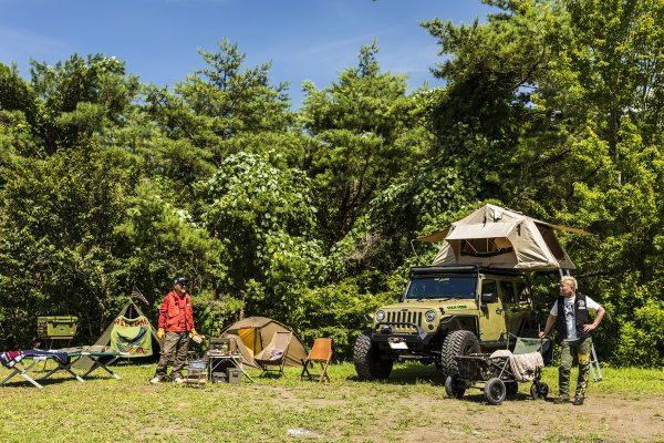 キャンプにサバイバル感を! 真夏のミリタリーキャンプはやっぱりアツかった。の巻