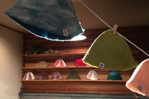 サウナでかぶる帽子、サウナハットついて調べてみました