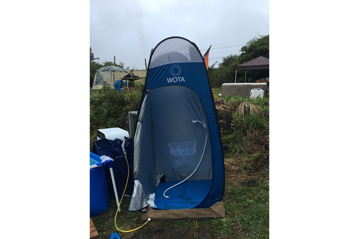 一度使用した水を98%再利用できる「WATA」。