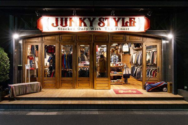 """秋冬のファッションは、新装開店した""""JUNKY  STYLE""""で手に入れよう!"""