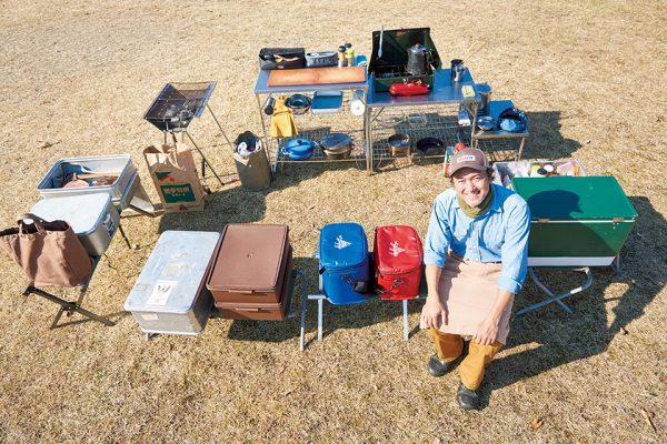 キャンプ料理の達人の道具と、理想のアウトドアキッチンの作り方