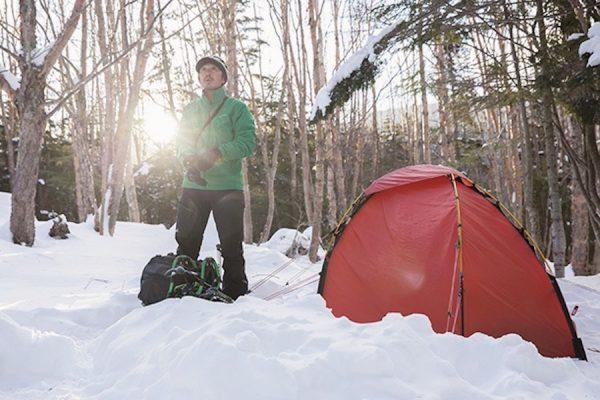 にゅう、白駒池、そして高見石へ。テント泊で行く冬の北八ヶ岳ルートガイド