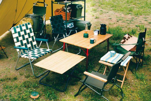 キャンプで差がつく便利&おしゃれなアウトドアテーブル12選