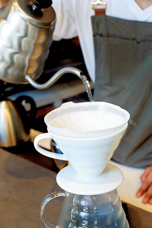 ドリップコーヒーの準備2